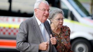 Bill Hayden and his wife Dallas.