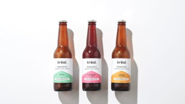 The Kreol sparkling product.
