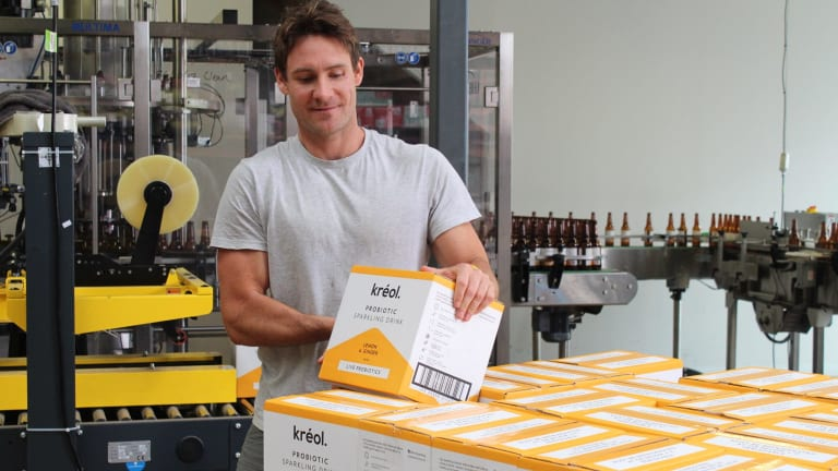 Kreol is made at a local brewery on the Mornington Peninsula.