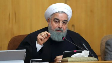 "Iranian President Hassan Rouhani said on Sunday that people have the right to protest, but those demonstrations should not make the public ""feel concerned about their lives and security."""