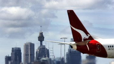 After posting a loss of  $646 million last year, Qantas has this year reported a pre-tax profit of $975 million.