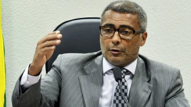 Former Brazilian footballer and current Senator Romario celebrated Sepp Blatter's resignation on Tuesday and demanded the resignation of the president of Brazilian football body CBF, Marco Polo Del Nero.