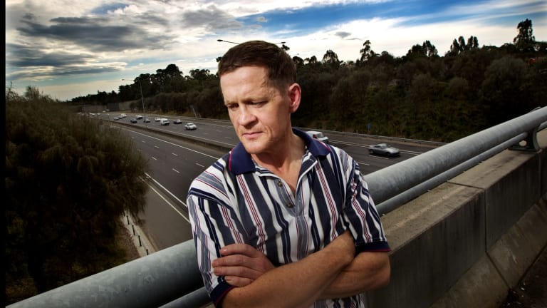Douglas Harley photographed in 2013 after he spoke out against the East West Link project.