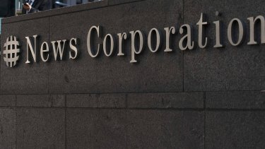 News Corp revenues were hit by a stronger US dollar.