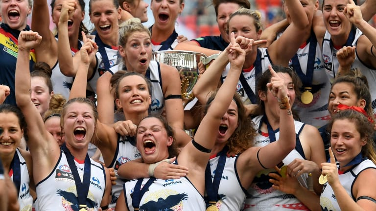 Reigning AFLW premiers Adelaide will be playing a different game next year.
