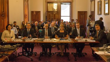 The corporate tax avoidance inquiry at the State Parliament of Victoria.