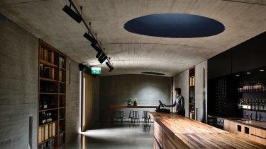 Kerstin Thompson Architects' new cellar door at TarraWarra Estate.