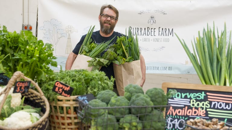 Andrew Jones of BurraBee Farm is committed to a green  environment.