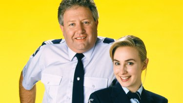 John Wood as Sergeant Tom Croydon, and Lisa McCune as young probationary constable Maggie Doyle.