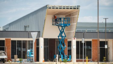 Developer Renato Cervo has until 2019  to complete the Coombs community local shopping centre.