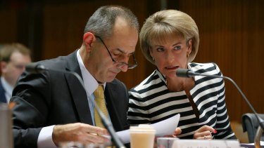 Immigration Department secretary Michael Pezzullo, pictured with Employment Minister Michaelia Cash, said he had no direct knowledge of the self-immolation incident because it occurred in the community.