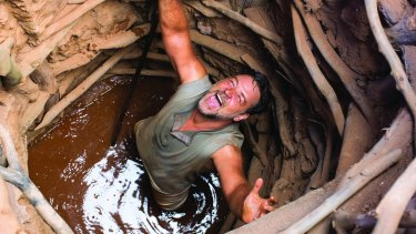 Beauty: Russell Crowe has struck gold with The Water Diviner.