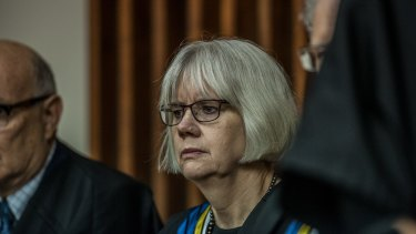 Retiring: Justice Hilary Penfold will step down from the ACT Supreme Court.
