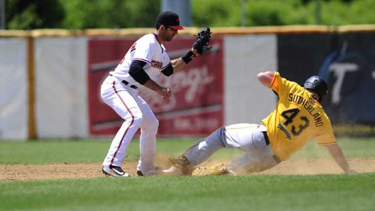 Canberra Cavalry shortstop Jason Leblebijian was named the team's most valuable players on Monday night.