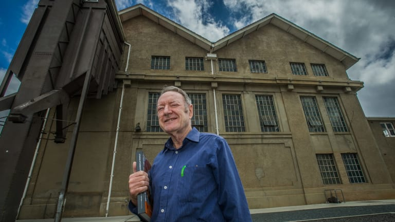 Canberra man Keith Baker has been awarded a national medal for his efforts in recording the city's engineering heritage.
