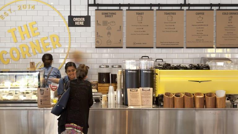 The corner in Sydney serves lentils, chipotle pulled pork and craft soft drink.