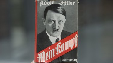 Adolf Hitler's autobiography, 'Mein Kampf', outlined his plans for Germany.