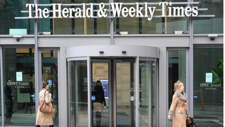 The Herald and Weekly Times (publisher of the 'Herald Sun') is facing a big damages bill.