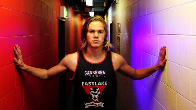 Eastlake's Harrison Himmelberg is an athletic forward.