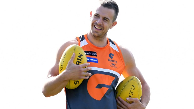 Brett Deledio will debut for the Giants' first grade team in Canberra this weekend.