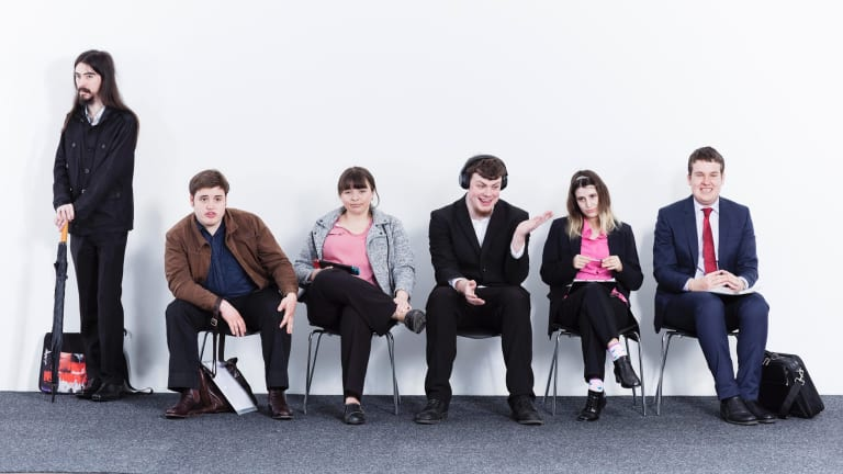 From left: Tim, Rohan, Jessica, Cain, Krystyna and Jonathan.
