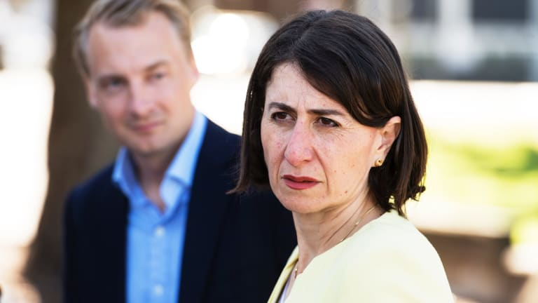 Premier Gladys Berejiklian changed her tune and thanked voters for trusting a candidate colleagues had been preparing to push under a bus.