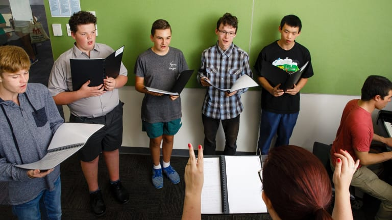 The Centuari Voices choir had its first rehearsal on Tuesday and is planning to expand.