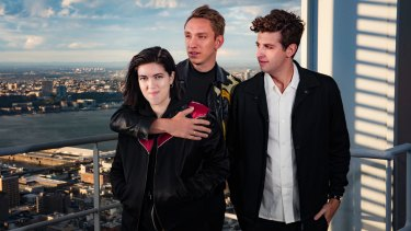The xx (from left): Romy Madley Croft, Oliver Sim and Jamie Smith.