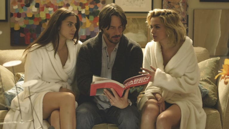 Erotic-horror film <i>Knock Knock</i>, starring Keanu Reeves, will be screened on the closing night of the Sydney Underground Film Festival.
