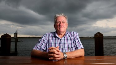 Hard slog: Des Lyons has had a long battle with the Tax Office.
