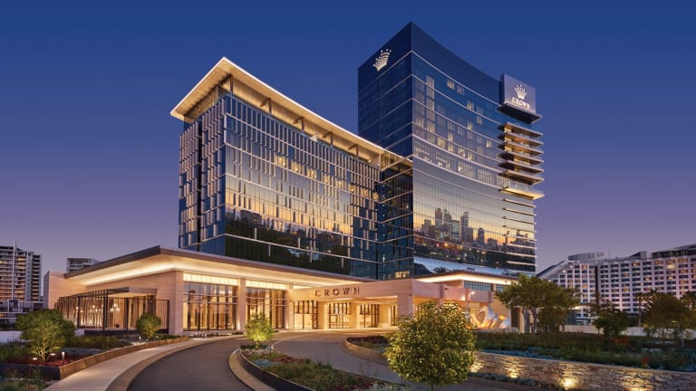 The new Crown Towers offers premium accommodation in Perth.