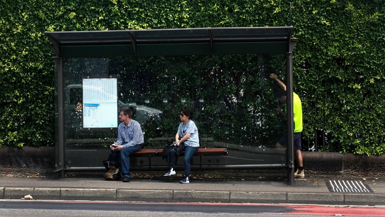 """Seeking shade: Councils across Sydney are working to find """"cooler"""" and """"smarter"""" bus shelters."""