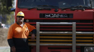 Victim: Truck driver Riadh Zora was sold the wrong insurance cover.