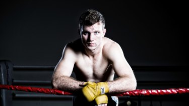 Boxer Jeff Horn poses for a photo in Brisbane.