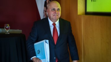 Victorian Treasurer Tim Pallas.