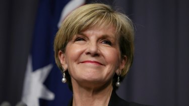 Foreign Affairs Minister Julie Bishop has launched a bid for Australia to co-chair the Green Climate Fund.