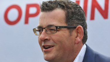 """Premier Daniel Andrews says the deal is """"a massive vote of confidence"""" in the state economy."""