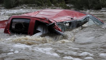 The driver of the twin cab four wheel drive vehicle died when it was swept away in Paddy's river.