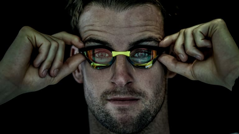 Comeback trail: Two-time world champion James Magnussen.
