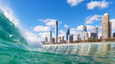 Surfers Paradise has grown by 15.6 per cent since the 2011 census.