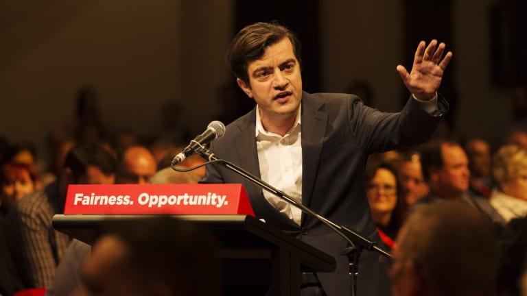 Labor senator Sam Dastyari says the Greens are like a 'cancer' on progressive politics.