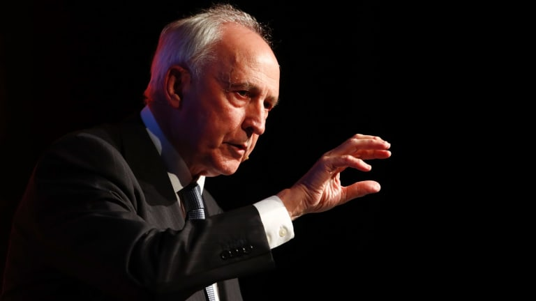 Provocateur-in-chief Paul Keating.