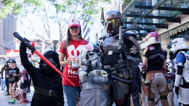 Kidney Health Australia joined forces with Star Wars fans to raise awareness and funds.