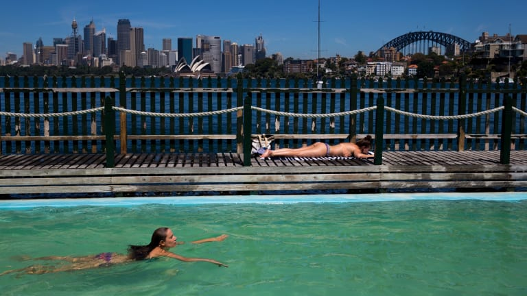 Sydney house prices recorded an annual growth of 18.4 per cent - the highest figure since 2002.