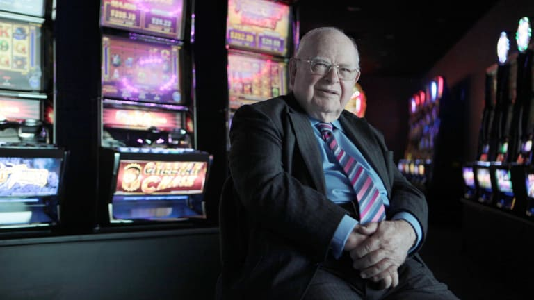 Len Ainsworth's pokies business has been growing rapidly for the past five years, but its share price undervalues its future prospects, Motley Fool reckons.