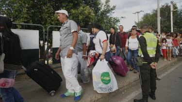 Venezuelan President Nicolas Maduro has opened the border to neighbouring Colombia three times to allow people to buy essential items and food.