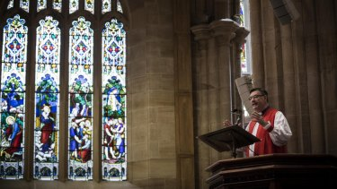Anglican Archbishop Glenn Davies spoke out against same-sex marriage.