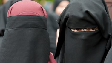 Austria has banned face coverings.