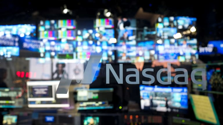 The 'big five' makes up more than 40 per cent of the value of the Nasdaq 100 index.