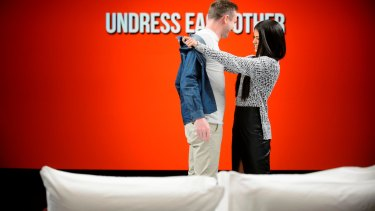 Undressed: Take off your clothes and get to know each other.